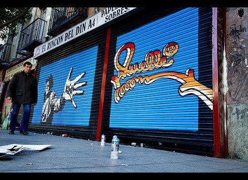 grafitti muelle