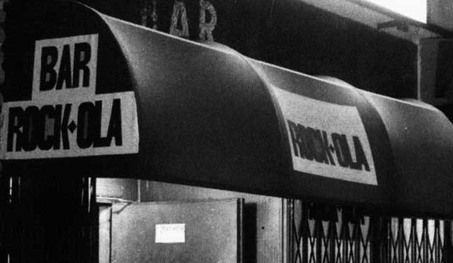 Bar Rock-ola de la Movida Madrileña